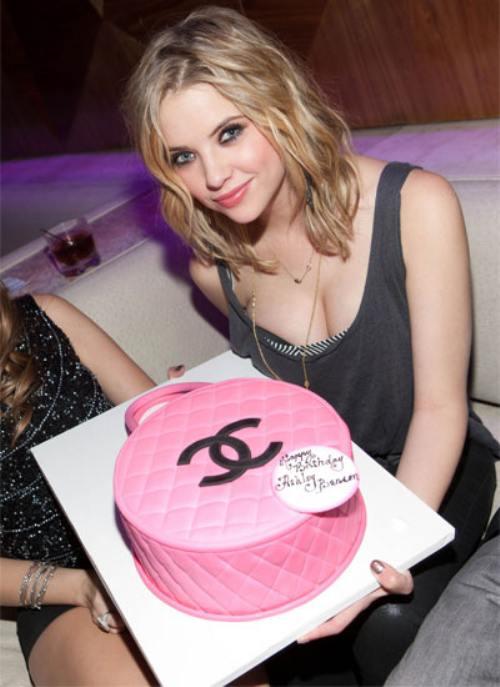 Ashley Tisdale Birthday Cake