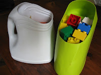 http://www.annymay.ca/blogs/craft-diy/12280985-making-storage-containers-with-reclaimed-plastic-bottles