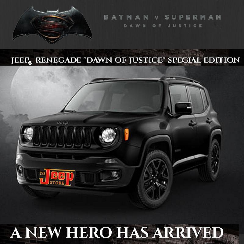 limited edition 2016 batman jeep renegade jeep lovers blog. Black Bedroom Furniture Sets. Home Design Ideas