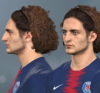 PES 2017 Faces Adrien Rabiot by WER Facemaker