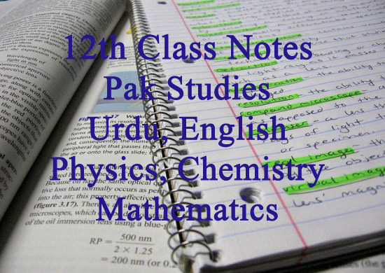 2nd Year Notes of all Subjects PDF Download
