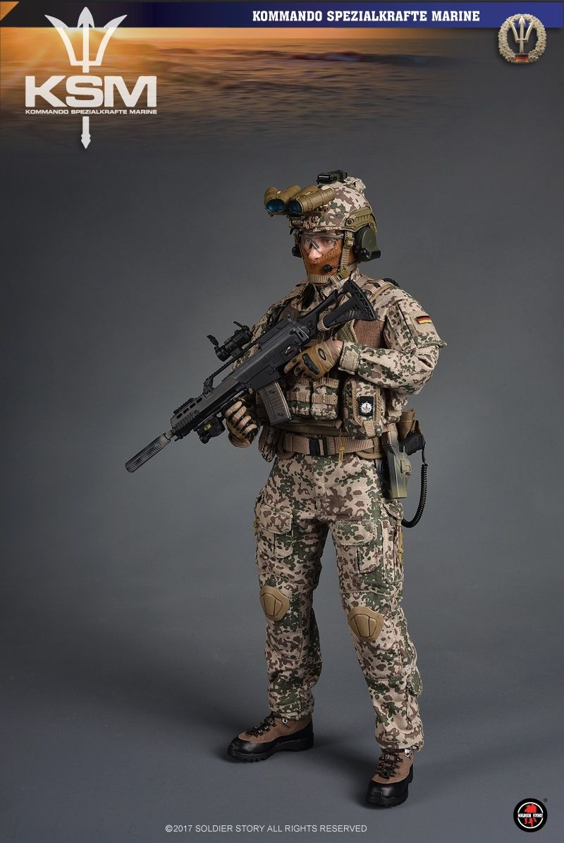 Onesixthscalepictures Soldier Story Kommando