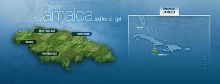 Negril Jamaica World Map