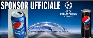 Logo Concorso Pepsi: vinci 250 poltrone del tifoso e una partita Uefa Champions League