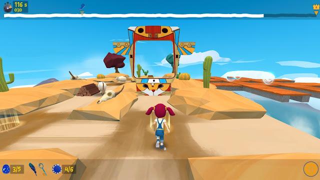 Platformer runner game