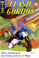 Flash Gordon v4 #5 1960s silver age science fiction comic book cover art by Al Williamson