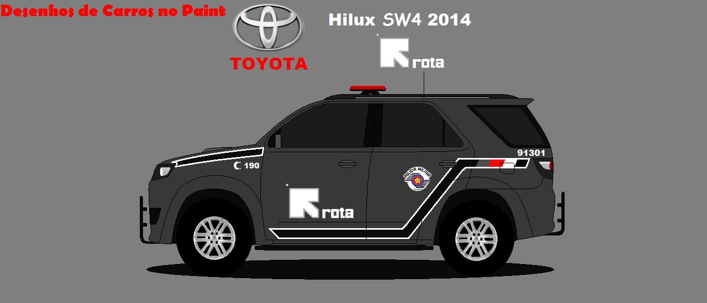 Toyota Hilux Sw4 2014 Da Rota Dcp Design