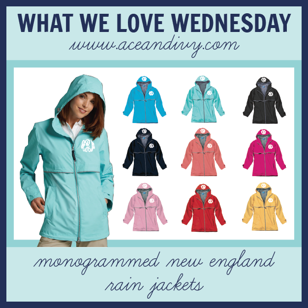 Ace and Ivy Product Spotlight: New England Rain Jackets
