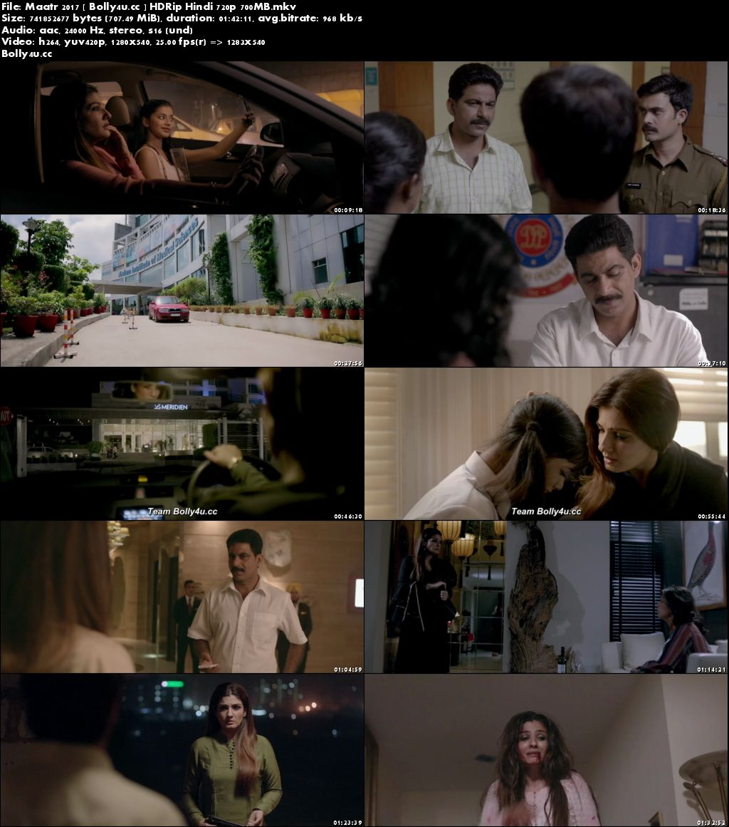 Maatr 2017 HDRip 300MB Full Hindi Movie Download 480p