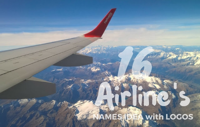airlines business names idea with logos
