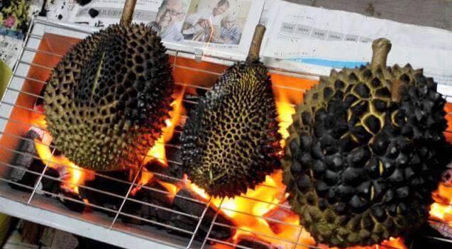 Cobalah Sensasi Baru Rasa Durian dengan Cara Dibakar.. Lebih Manis, Lembut dan Nikmat