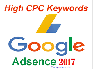 Top High Paying Google AdSense Keywords For 2018 2