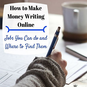 ways to earn money online by writing, writing to earn money