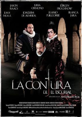 Cartel oficial español: La conjura de El Escorial