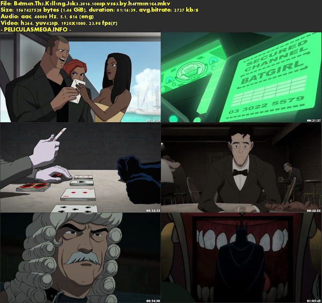 Descargar Batman: The Killing Joke Subtitulado por MEGA.