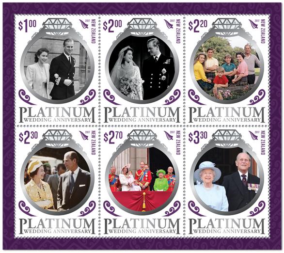 Virtual new zealand stamps platinum wedding anniversary