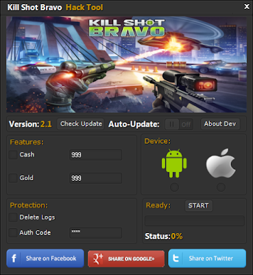 kill shot bravo main screen hack tool