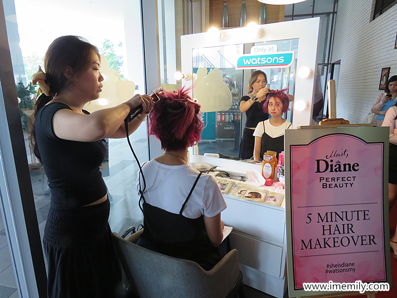 Moist Diane Perfect Beauty Series Shampoo Launch