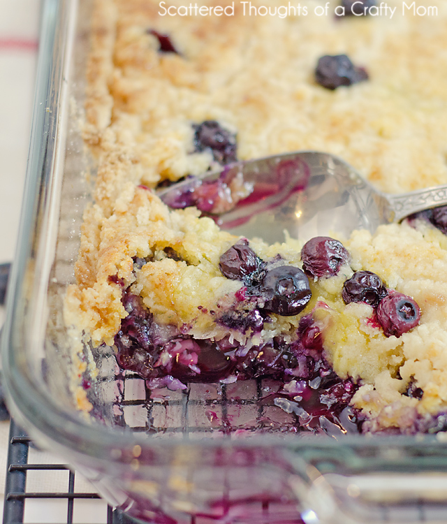 The Most Delicious Blueberry Dump Cake Recipe