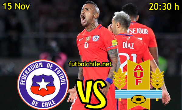 Ver stream hd youtube facebook movil android ios iphone table ipad windows mac linux resultado en vivo, online: Chile vs Uruguay