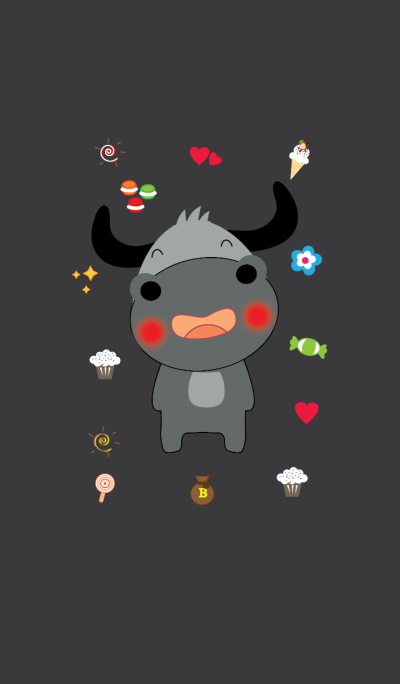 Cute buffalo theme v.2