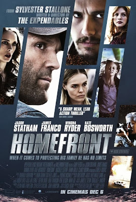 Poster Of Homefront 2013 Full Movie Download 300MB In Hindi English Dual Audio 480P Compressed Small Size Pc Movie movies365.in