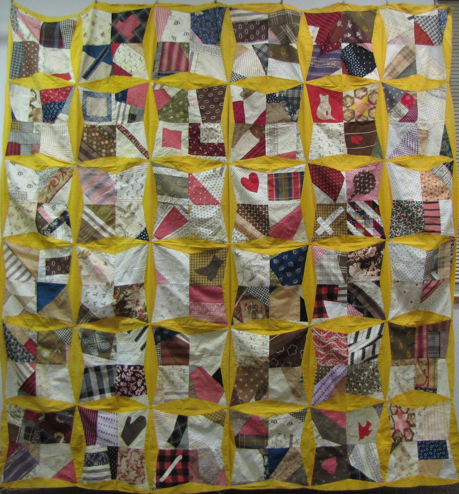 Textile Time Travels Crazy Days Crazy Quilt Day 28