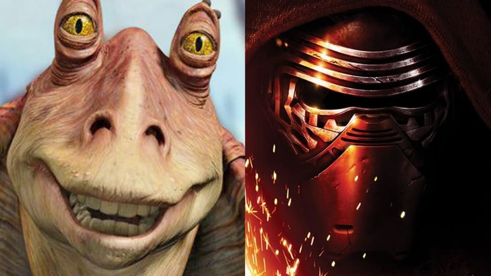 Star Wars, Звёздные войны, самый популярный персонаж далёкой галактики, принцесса Лея Органа, Джа-Джа Бинкс, Кайло Рен