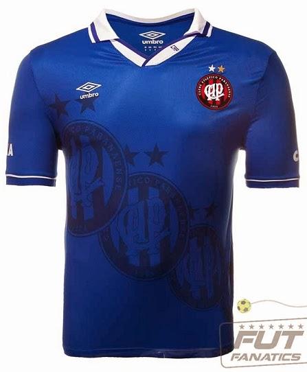 Atlético Paranaense apresenta camisa azul em homenagem a Seleção Brasileira 5c94aaf18e835