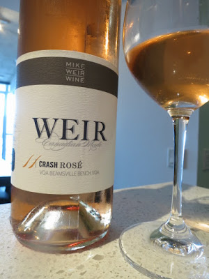 Mike Weir Crash Rosé 2011 - VQA Beamsville Bench, Niagara Peninsula, Ontario, Canada (86 pts)