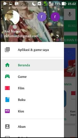 daftar aplikasi playstore