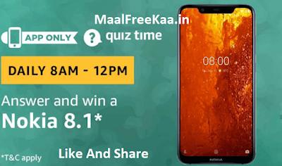 Nokia 8.1 Quiz Time