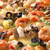 Recette de pizza aux fruits de mer |<br>Pizza with seafood recipe