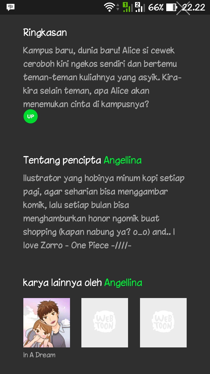 Komik Line Webtoon Alice Mungkin Blog