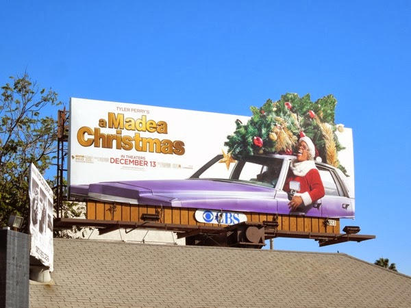 Madea Christmas special extension billboard