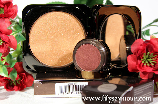 Fashion Fair Metal Illuminator and Ginger Snap Eyeshadow
