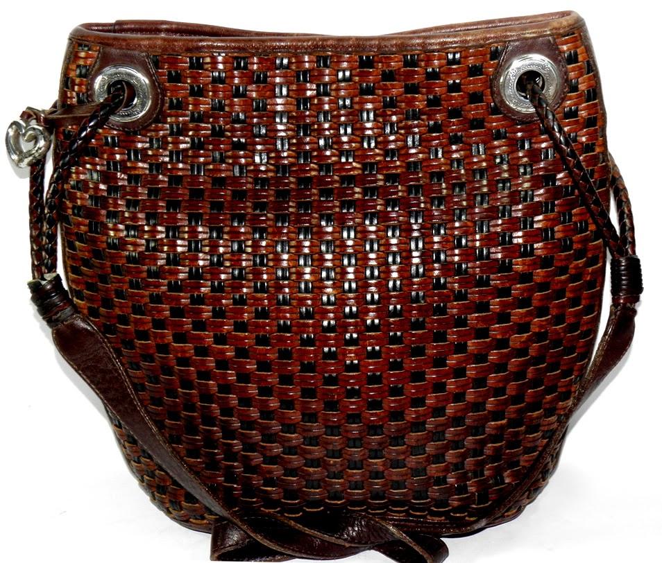 Vintage Brighton Basketweave Bag