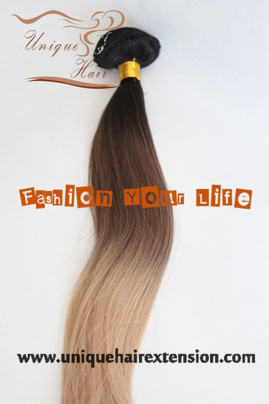 Qingdao Unique Hair Products Coltd 22inch 220grams Three Tone
