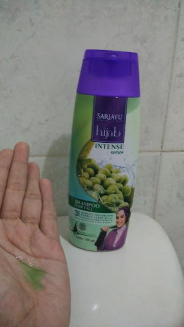 Sari ayu hijab intense seriea shampoo hair fall