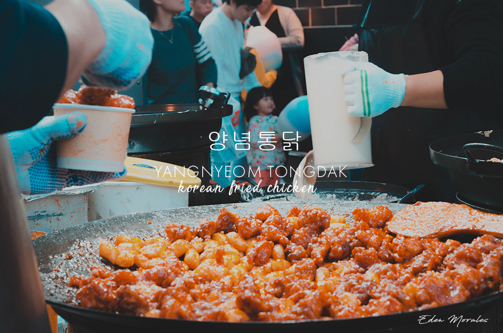 Uncovering-Eden-Food-In-Myeongdong-South-Korea-Yangnyeom-Tongdak