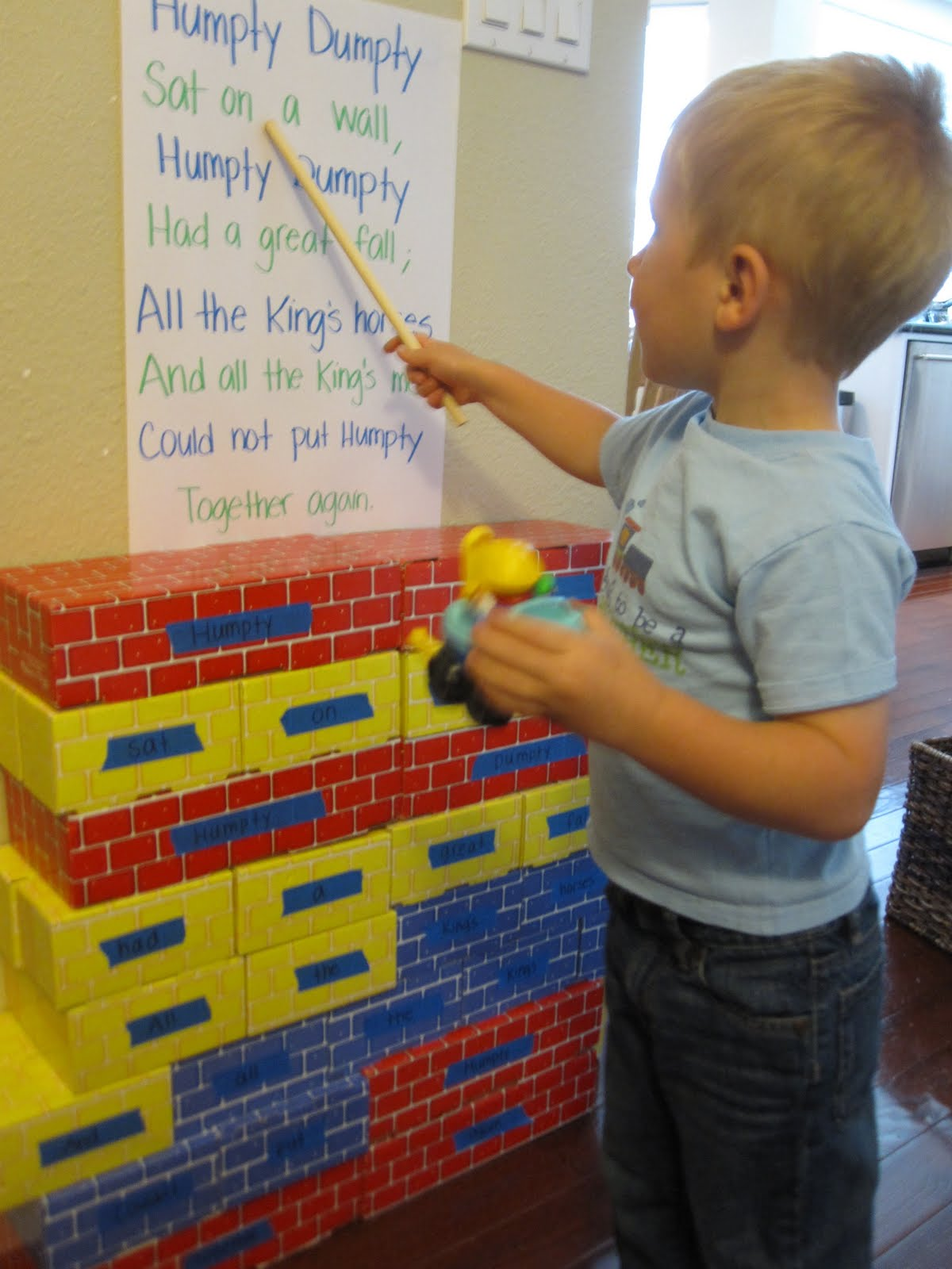 Toddler Approved Nursery Rhyme Wall