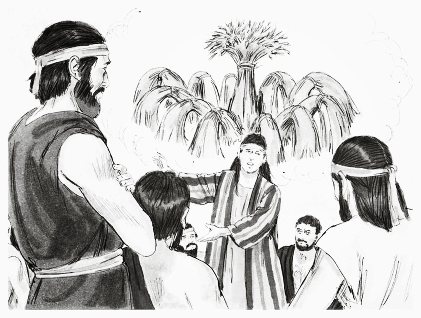 Miss Becky's Bible Blog: Lesson 1.8 God Redeems: Joseph