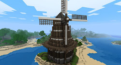 minecraft windmill building easy buildings idea dutch project cool structures viewer really inspired