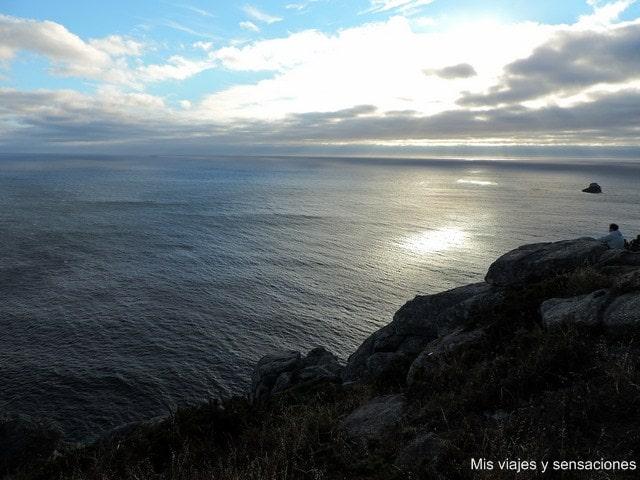 Atardecer en el Cabo Finisterre, Costa da Morte, Galicia
