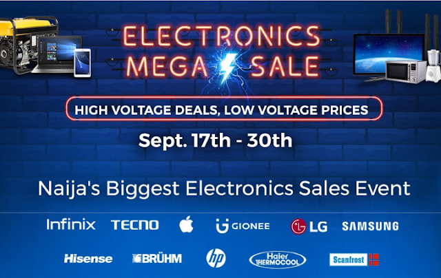 Don't Miss The Date!!!. Jumia Shocking Discounts On Electronics