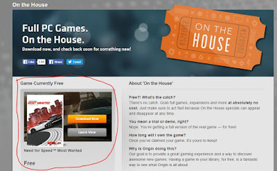 Origin Games- On the House
