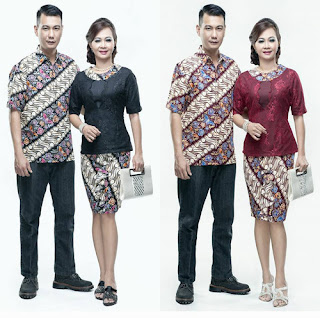 Model Baju Batik Couple Ibu Dan Anak