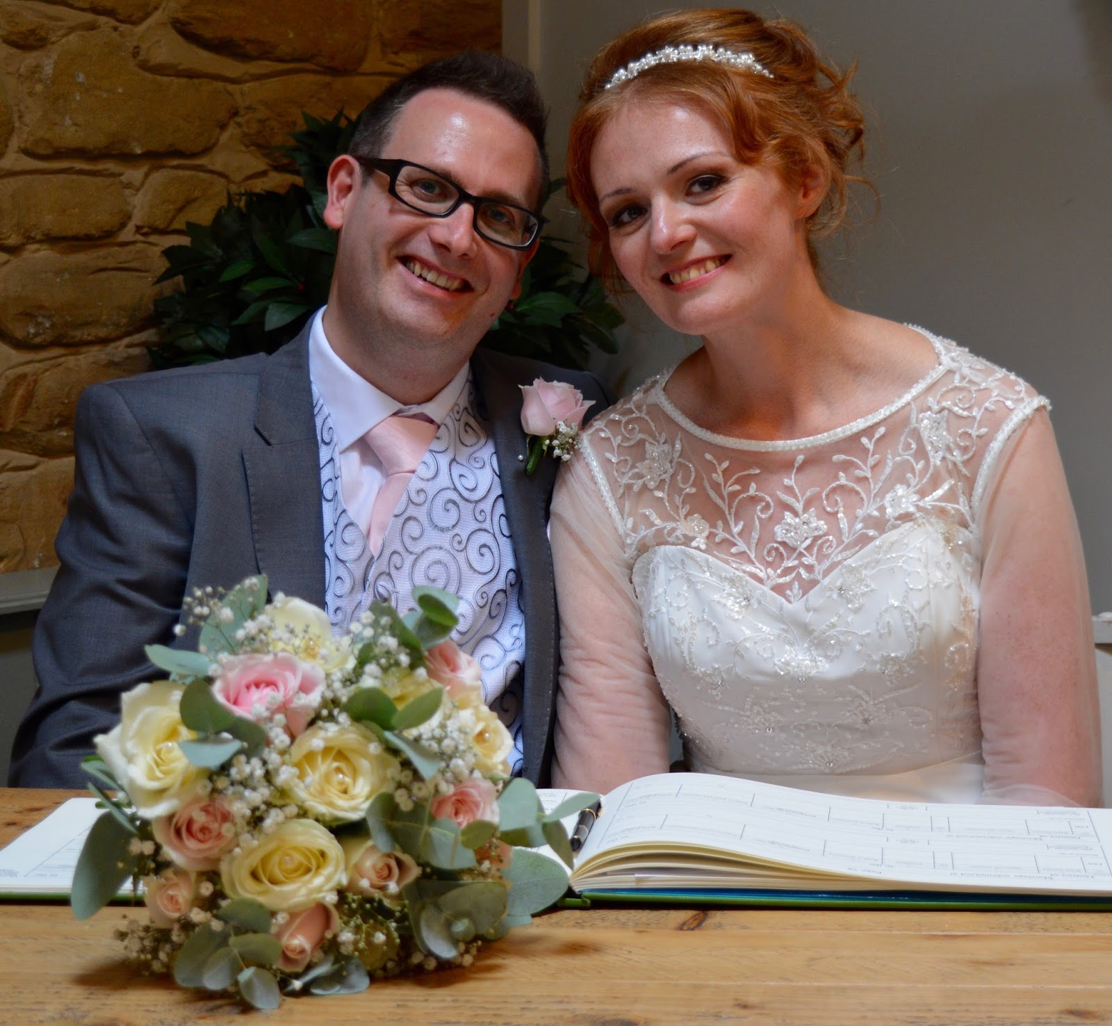 Weddings at The Parlour at Blagdon in Northumberland - wedding ceremony in the tearoom