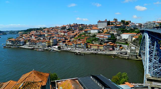 Vista da Cidade do Porto, Portugal