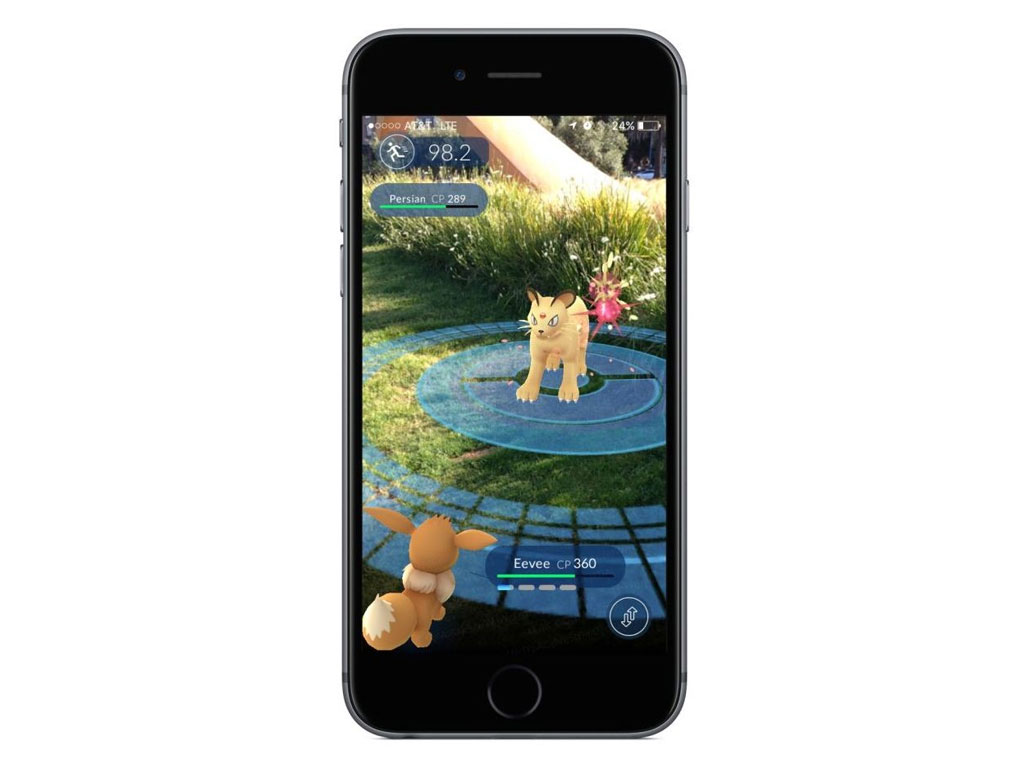 iphone device for Pokeon GO